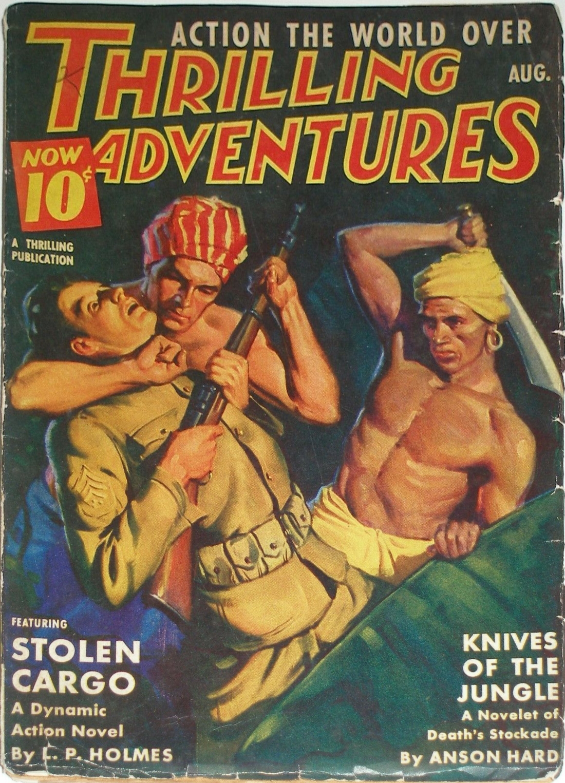 Thrilling Adventures - August 1939